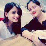 Shagun Sharma with Mother