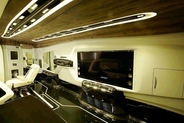 Shah Rukh Khan Vanity Van Inside