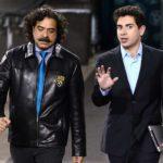 Shahid Khan With His Son Tony Khan