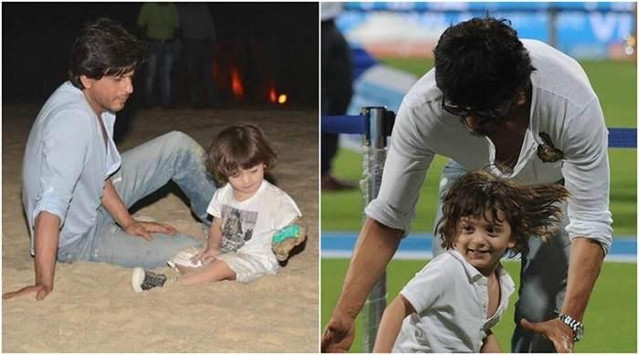 Shahrukh Khan with AbRam Khan (2)