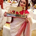 Shalini Kapoor Sagar won Bharat Gaurav Award