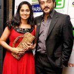 Shamili sister Shalini with Ajith Kumar