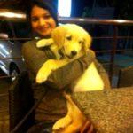 Sharanya Turadi Sundaraj loves dogs