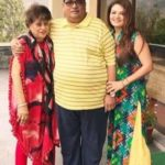 Sheeba Akashdeep with her parents