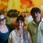 Madalsa Sharma with her parents