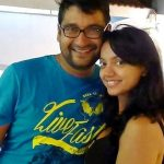 Sheetal Maulik with her husband Shaumik Maulik