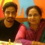 Sheetal Singh Mother and Brother
