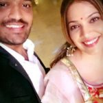 Shilpa Tulaskar with her brother Sushil Tulaskar