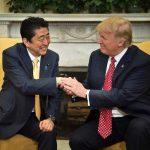 Shinzo Abe With Donald Trump
