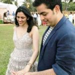 Shloka Mehta and Akash Ambani engagement photo