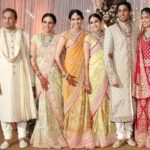 Russel Mehta with his wife, two daughter, son and daughter-in- law