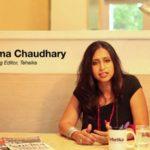 Shoma Chaudhury At Tehelka