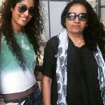 Shraddha Musale with mother