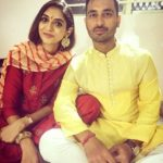 Shreevats Goswami with his wife Payal Jugroop