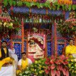 Shri Gaurav Krishna Shastri With His Father Mridul Krishna Shastri