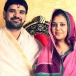 Shri Gaurav Krishna Shastri With His Wife