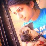 Shruti Kharbanda, a dog lover