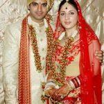 Sid Makkar with his wife Shalini