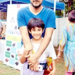 Siddharth Anand with his son Ranveer Anand