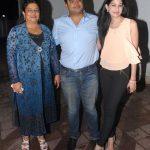 Siddharth Chopra with his mother & fiancee Kanika Mathur