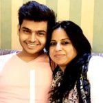Sidharth Sagar with his mother Alka Sagar