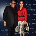 Simone Singh with husband