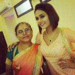 Sonal Bhatt with her mother