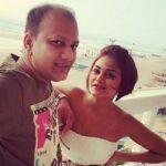 Sonal Bhatt with husband