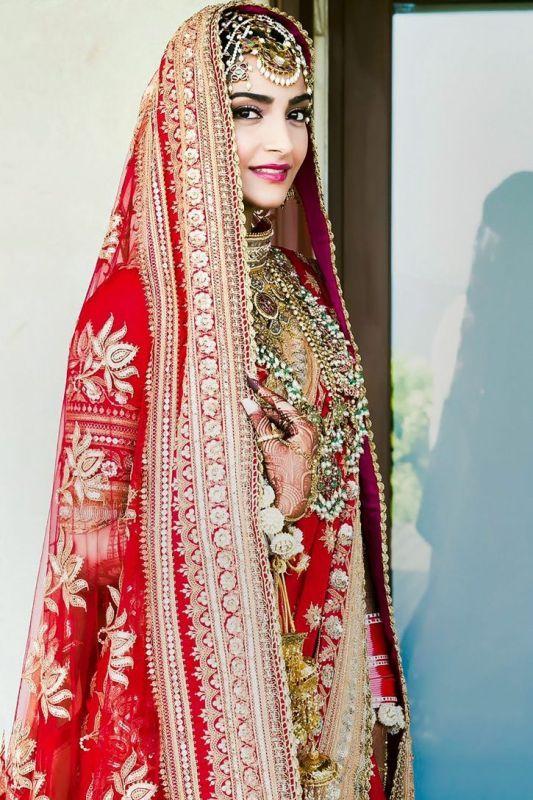 Sonam Kapoor's - The wedding day