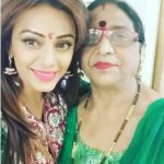 Soni Singh with mother