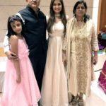 Srishti Jain with her family