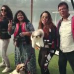 Srishty Rode with her family