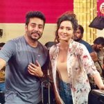 Raj Chakraborty with Subhashree Ganguly