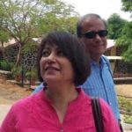 Sucheta Dalal With His Husband Debashis Basu