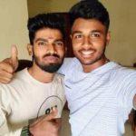 Sudhesan Midhun With Brother Akshai Achu