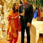 Suhaas Ahuja with his wife Shruti Gupte