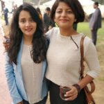 Sulagna Panigrahi with her sister