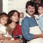 Sunita Kapoor With Her Family