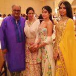 Sunita Kapoor's Nieces Khushi And Jhanvi Kapoor With Thier Parents Sri Devi And Bonny Kapoor