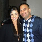 Russell Peters with Sunny Leone