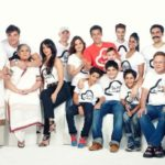 Sushila Charak with her Khan Family