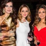 Sussanne Khan Drinking