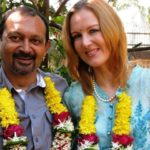 Suzanne Bernert and Akhil Mishra marriage pic