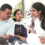 Swati Maliwal With Arvind Kejriwal