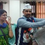 Swati Maliwal With Her Husband Naveen Jaihind