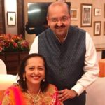 Swati Piramal with her brother