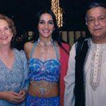 Tara Sharma with parents