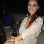 Tara Sutaria drinking alcohol