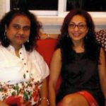 Tarana Raja Kapoor with Sister