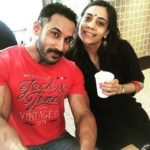Tarun Gill with his wife